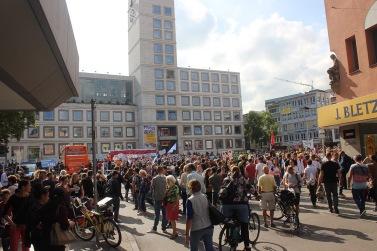 breiter Protest gegen DfA