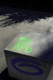 2019-02-16_Stencil Nein zur AfD