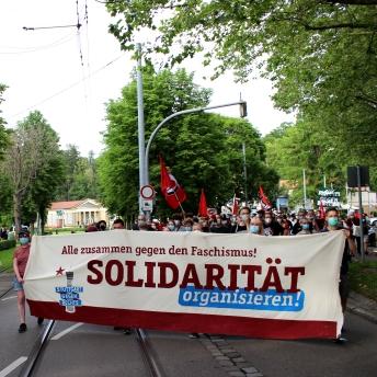 Demo durch Cannstatt_insta
